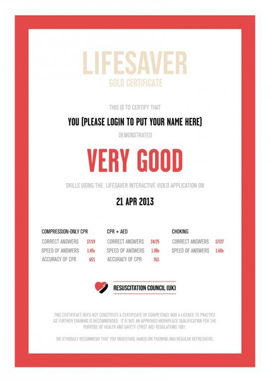 Натиснете върху изображението за да го видите в голям размер  Име:Lifesaver Certificate.jpg Прегледи: 103 Размер: 46.8 Кб ID: 573281